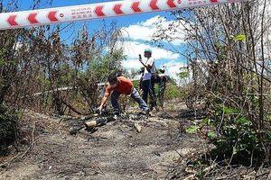 Bình Thuận: Phát hiện thi thể cháy trơ xương trên đồi cát