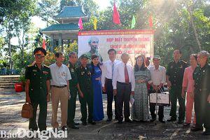 Họp mặt truyền thống cán bộ và lực lượng vũ trang Tỉnh ủy Biên Hòa (U3) - Phân khu 4