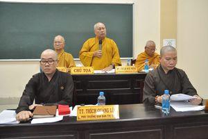 Ban Trị sự Phật giáo tỉnh Tiền Giang họp triển khai công tác Phật sự
