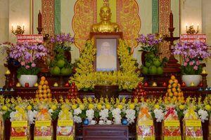 Trung ương GHPGVN và Ban Trị sự Phật giáo TP.HCM tưởng niệm Đại lão Hòa thượng Thích Từ Nhơn