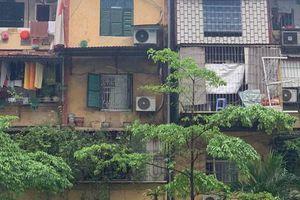 Cải tạo chung cư cũ: Hà Nội không ngồi yên chờ cơ chế