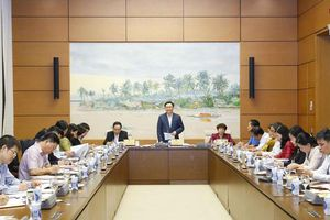 Chủ tịch Quốc hội làm việc với Ủy ban về các vấn đề Xã hội và Ủy ban Pháp luật