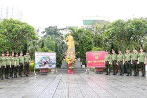 Cụm thi đua số 5 - CATP Hà Nội: Trồng cây đời đời nhớ ơn Chủ tịch Hồ Chí Minh