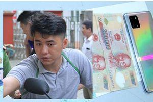 Nghiện ma túy, mượn xe máy đi cướp giật tài sản