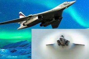 Thực hư vụ 'thiên nga trắng' Tu-160 khiến 'quái điểu' F-35 hụt hơi