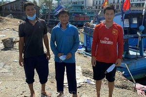 Phú Quốc: Bắt giữ hai sà lan, cách ly 7 người nhập cảnh trái phép