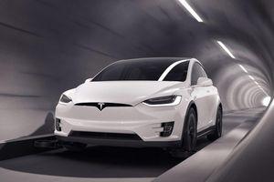 Đường hầm đầu tiên cho xe điện Tesla chuẩn bị khai trương