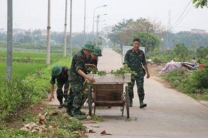 Vì một thị xã Sơn Tây xanh, sạch, đẹp trước ngày bầu cử