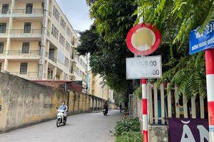 Xem xét lại tổ chức giao thông ngõ 234 Hoàng Quốc Việt