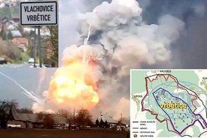 Nga hỏi khó Czech về kho đạn Vrbetica