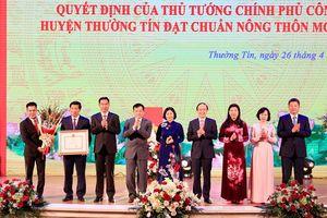 Huyện Thường Tín đạt chuẩn nông thôn mới
