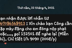 CSGT TP HCM nói gì về tin nhắn 'dụ' đóng phạt 'nguội'?