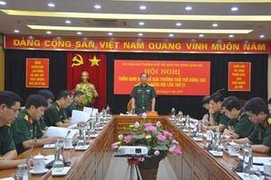 Thẩm định kết quả Giải thưởng Tuổi trẻ sáng tạo trong quân đội lần thứ 21