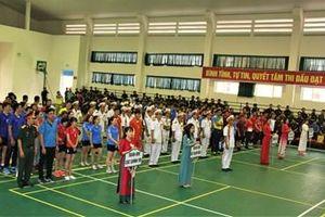 Khai mạc giải thể thao Cụm thi đua 4 cơ quan Quân khu 5