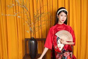 Nữ sinh ĐH Công đoàn sở hữu vòng eo khiến người mẫu chuyên nghiệp cũng phải phát hờn