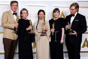 Phim 'Nomadland' thắng giải phim hay nhất tại Oscar lần thứ 93