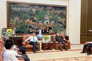 Chủ tịch Phan Xuân Dũng thăm và làm việc với Tỉnh ủy Hưng Yên