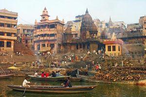 Giải mật phong tục hỏa táng linh thiêng của người Ấn Độ