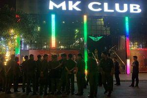 Thái Bình: Công an đột kích quán bar, gần 40 thanh niên dương tính với ma túy