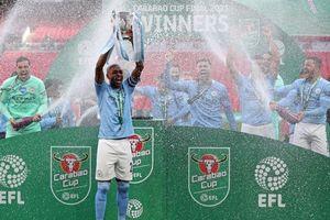 Thắng tối thiểu trước Tottenham, Man City đăng quang Carabao Cup