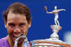 Nadal nói gì sau khi lập kỷ lục 12 lần vô địch Barcelona Mở rộng