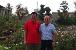 HLV Park Hang Seo và tấm tình bất ngờ với tân Chủ tịch CLB Hải Phòng
