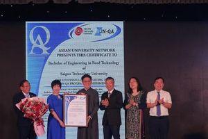 Ngành Công nghệ Thực phẩm của STU đạt tiêu chuẩn chất lượng AUN-QA