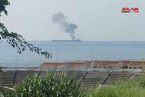 Tàu chở dầu của Iran bị tấn công ngoài khơi Syria