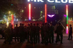 Đột kích quán bar lớn nhất Thái Bình, phát hiện hàng chục người dương tính ma túy