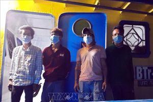 Cách ly y tế 7 trường hợp xuất, nhập cảnh trái phép ở vùng biển Phú Quốc