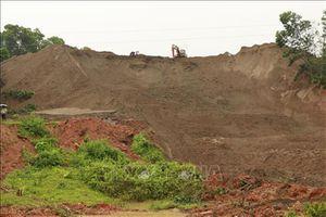 Yên Bái: Sạt lở hồ chứa chất thải nhà máy tuyển quặng sắt