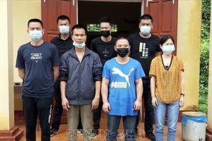 Tuyên Quang: Đưa 7 người nhập cảnh trái phép đi cách ly