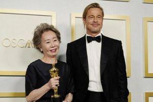 Bị hỏi thô lỗ về Brad Pitt, chủ nhân giải Oscar: 'Tôi không phải con chó'
