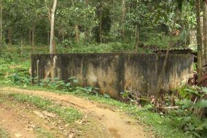 Nhiều công trình nước sạch ở vùng cao Thanh Hóa xuống cấp trầm trọng