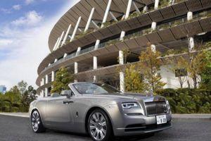 Cận cảnh Rolls-Royce Dawn lấy cảm hứng từ tòa nhà ở Tokyo