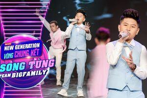 Song Tùng hát hit 'Trở lại tuổi thơ' khiến Lưu Thiên Hương không thể rời mắt: 'Càng lên cao càng đỉnh'
