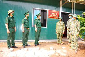 Bộ chỉ huy BĐBP tỉnh: Kiểm tra duy trì thực hiện phòng, chống dịch Covd-19 trên tuyến biên giới Việt Nam - Lào