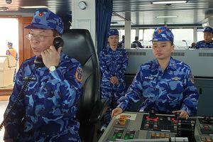 Cảnh sát biển Việt Nam và Trung Quốc tuần tra liên hợp