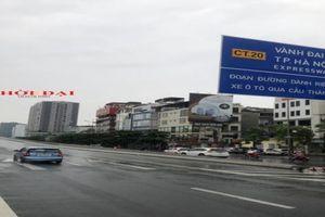 Gỡ lệnh cấm xe đường vành đai 3 trên cao đoạn Mai Dịch - cầu Thăng Long