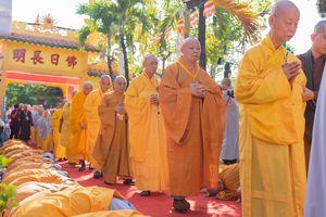 Đồng Tháp: Trang nghiêm khai mạc Đại giới đàn Từ Nhơn Phật lịch 2564