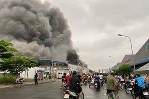 Hải Dương: Một công ty trong KCN Đại An mở rộng bị cháy