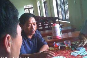 Bí thư phường 'lập sòng bạc' tại hội trường ủy ban