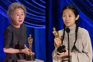 Kết quả Oscar 2021: Chiến thắng lịch sử của những người phụ nữ Châu Á