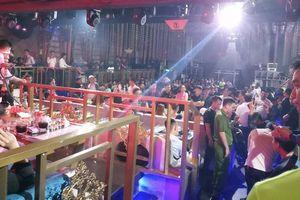 Đột kích quán bar lớn nhất TP Thái Bình, phát hiện 300 người đang bay lắc