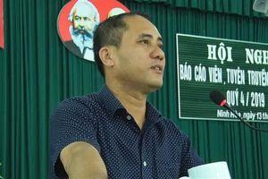 Khởi tố kẻ sát hại Bí thư Đảng ủy phường ở Khánh Hòa