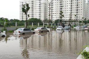 Hà Nội: Mưa trên diện rộng gây úng ngập một số khu vực
