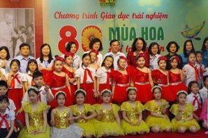 80 mùa hoa - Đội ta tiến lên: Chương trình giáo dục trải nghiệm cho học sinh tiểu học