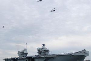 Anh bảo vệ quyết định đưa nhóm tấn công tàu sân bay đến Đông Á