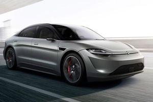 Ôtô điện Vision-S của Sony có cạnh tranh lại Tesla?