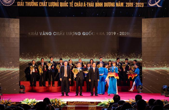 Sơn Hà nhận Giải Vàng Chất lượng Quốc gia